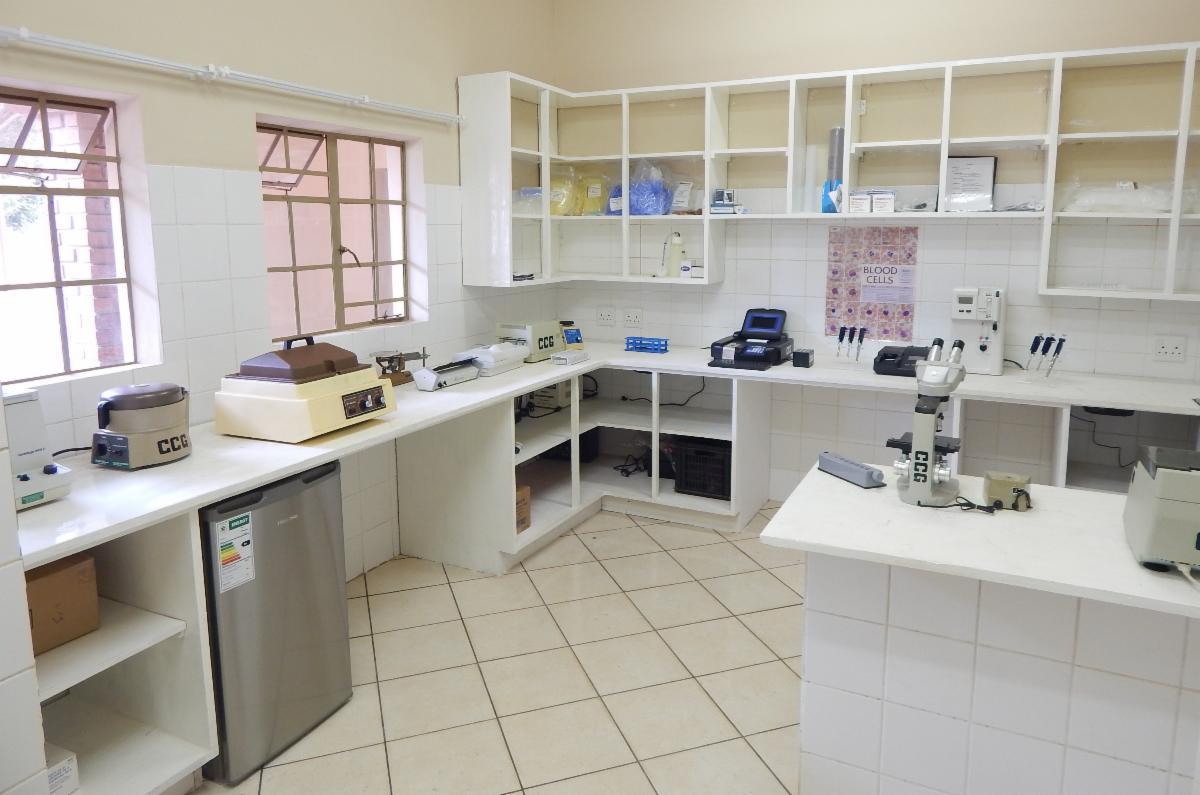 Hospital laboratory