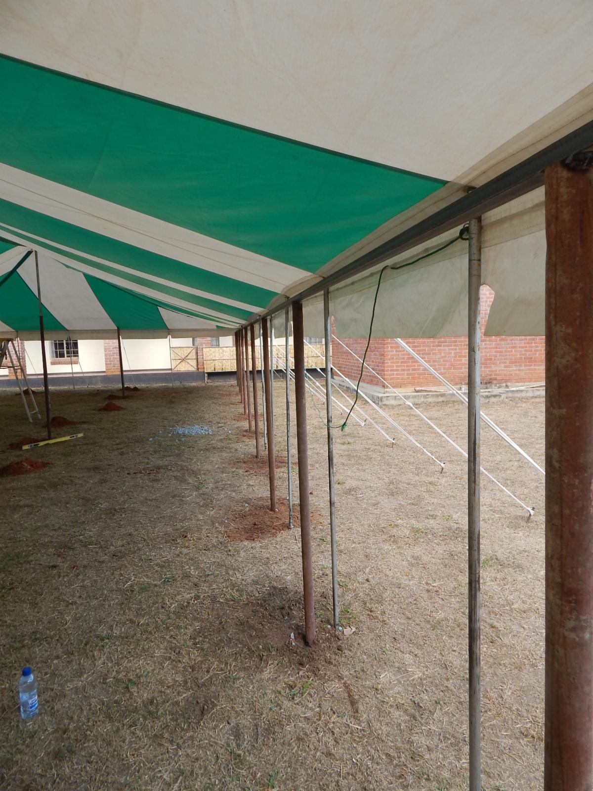Tent infirmary