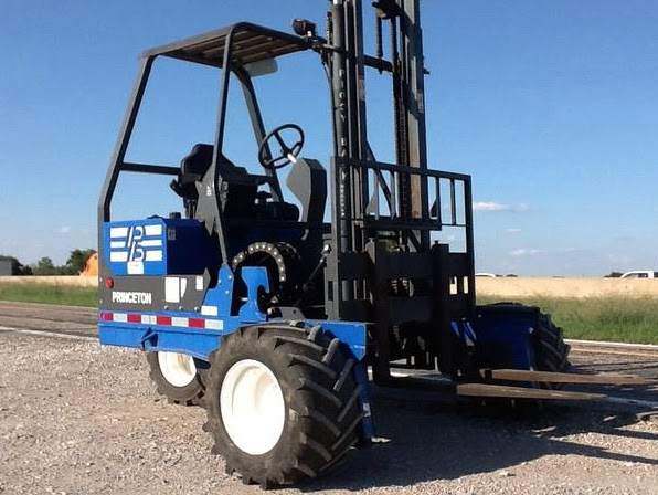Order Picker, Truck Mounted and Rough Terrain Forklifts