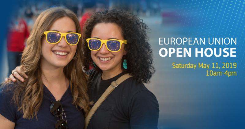 European Union EMBASSIES Open House - Sabato 11 Maggio 2019 - dalle ore 10 alle 16 @ The Italian Embassy