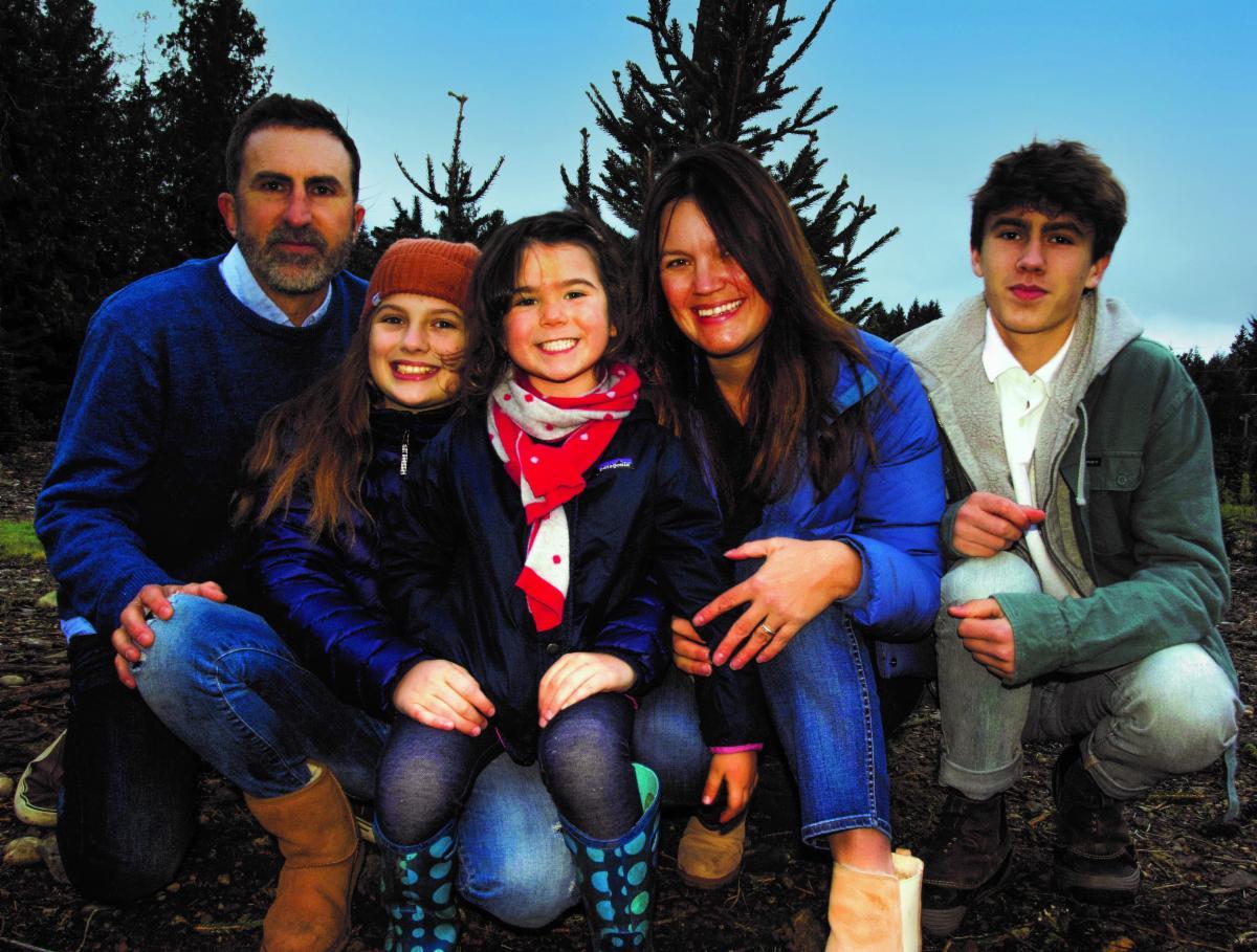 Josh Colvin and Family