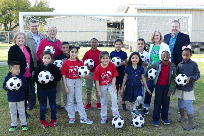 Sneed Elementary Soccer Goals