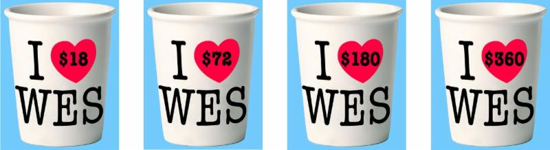 _I Heart WES_ coffee cups