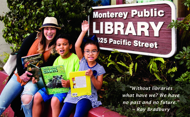 Monterey Public Library Year-end Appeal 2017