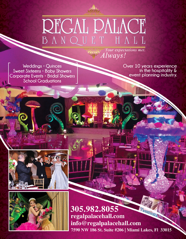 regal palace banquet hall in miami lakes