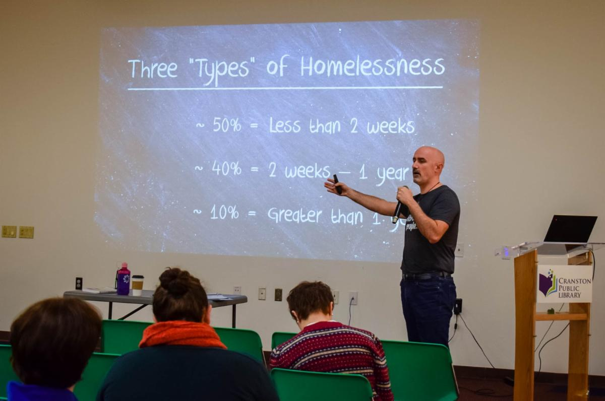 Ryan Dowd describes 3 types of homelessness