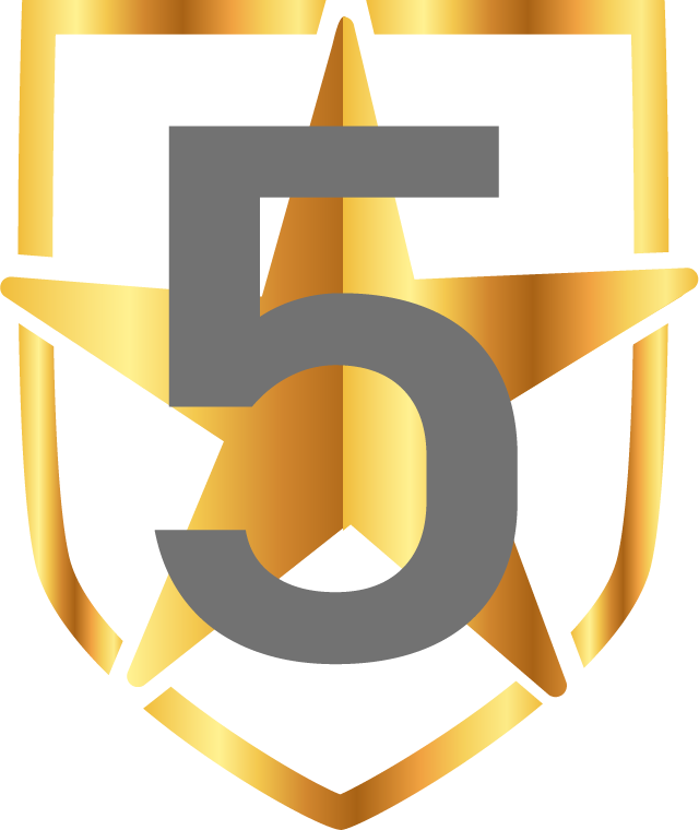 5 Star Badge