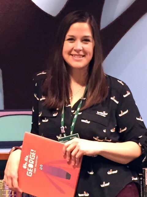 Newest librarian Jessica Keeler
