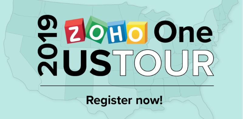 ZOHO One US Tour