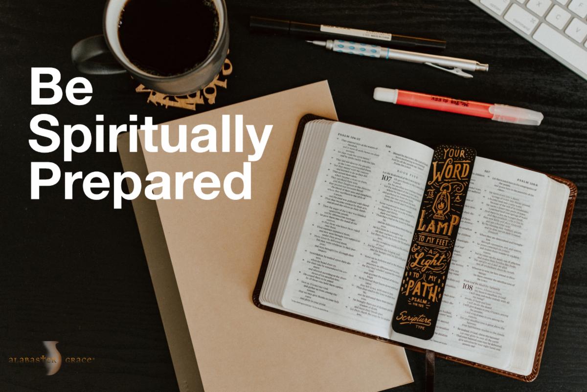 spiritually prepared