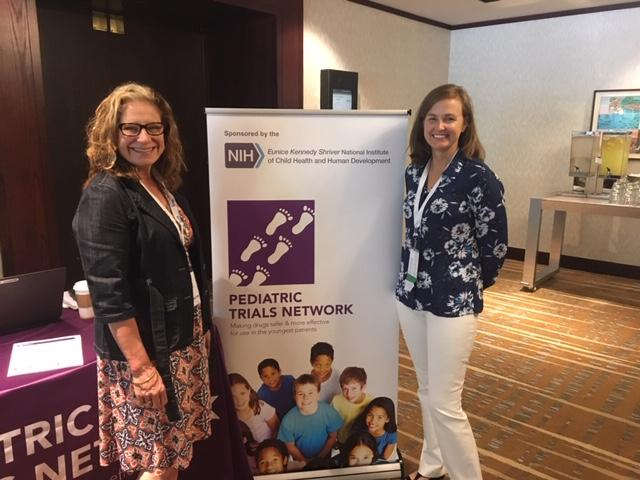 Phyllis Kennel - PTN Program Manager - Left Leanne West - iCAN Steering Committee President - Right