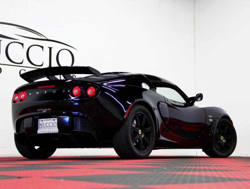 2008 Lotus Exige S 240 Phantom Black Black Only 7808 Miles