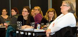 Members at an ETFO women's program