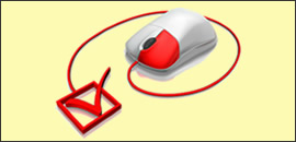 Mouse with ETFO checkmark