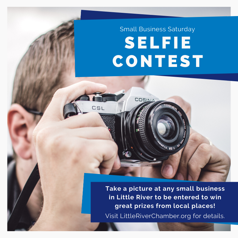 Selfie contest ad