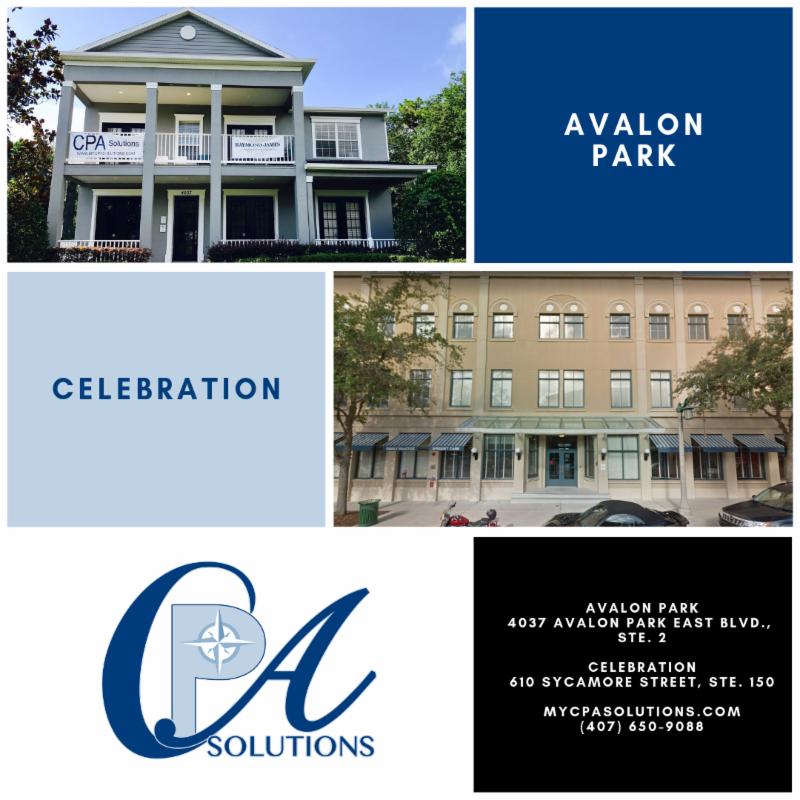 Avalon Park and Celebration Locations