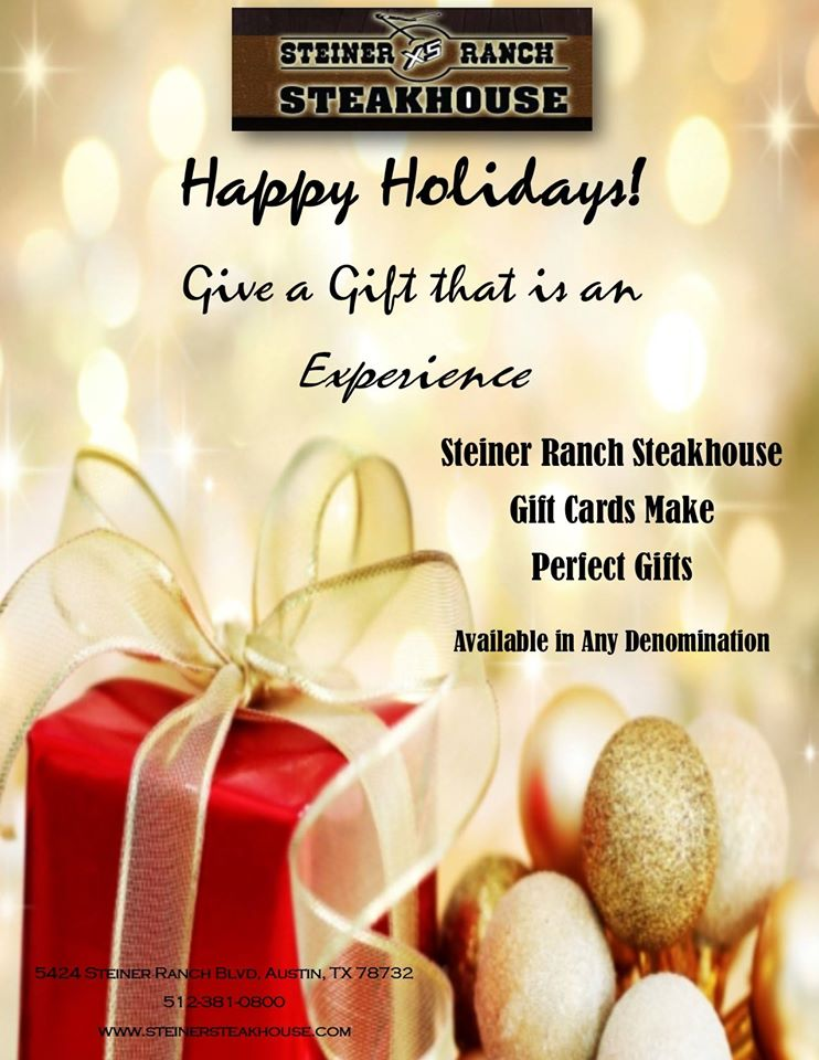 2a0d5e740b6 Gift Cards Now Available