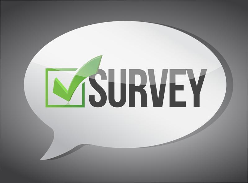 survey message communication concept illustration design graphic