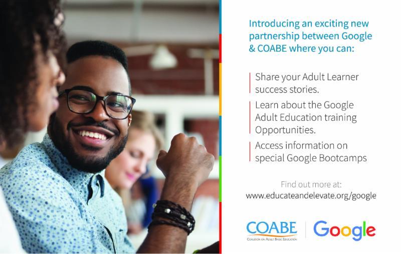 Google and COABE Partner