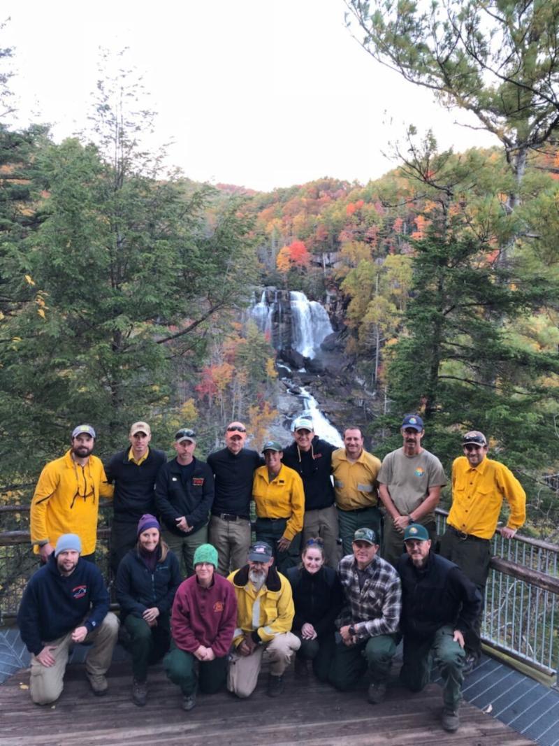 SBR Trex Participants at Gorges State Park, NC