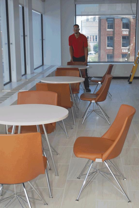 VBA on Main cafe seating