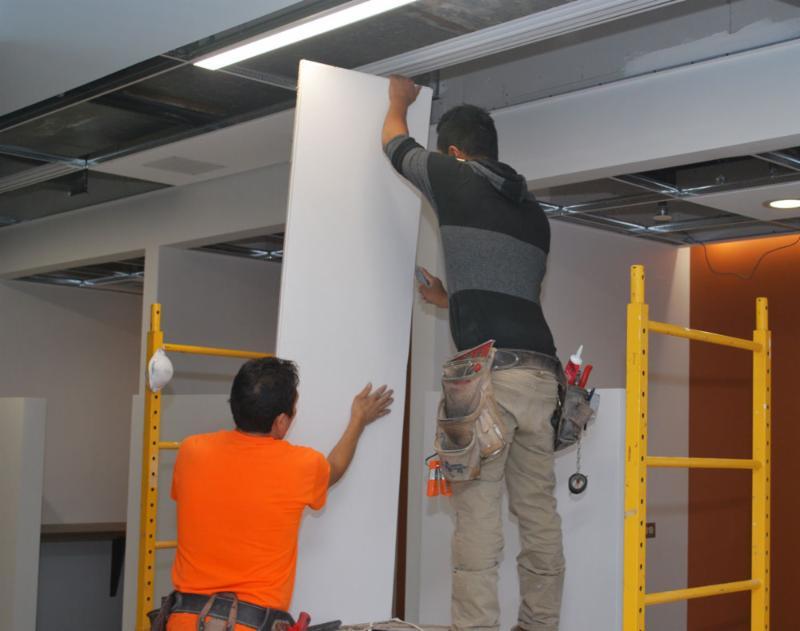 Ceiling tiles VBA on Main 9-12-17