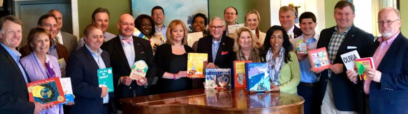 Book drive a feature of BoG Spring Meeting 2017