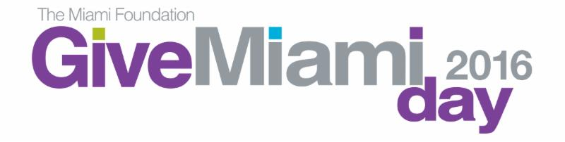Give Miami Day Logo for 2016