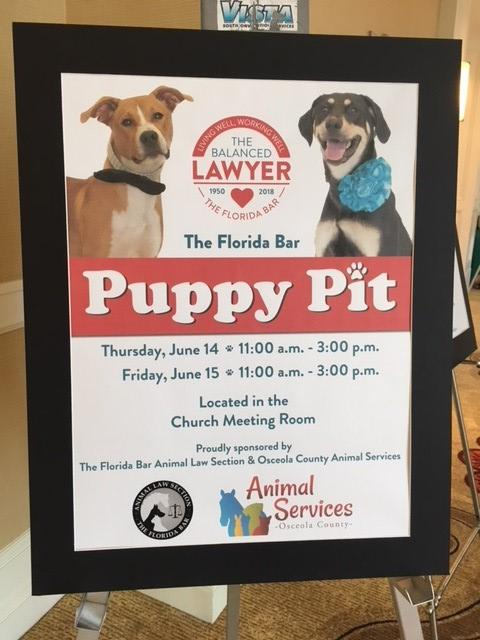 florida bar puppy pit sign