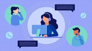 clip art of a virtual employee