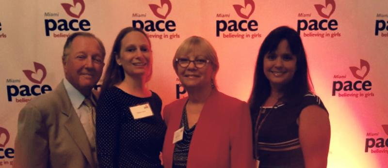 PACE luncheon. With Lester_ Debbie_ Sharon_ and Janette Vidal.