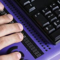 temporary braille keyboard