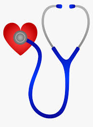 clip art of a stethoscope with a heart at the end