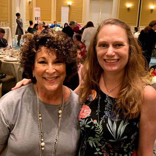 Debbie and Susan at the LWV event