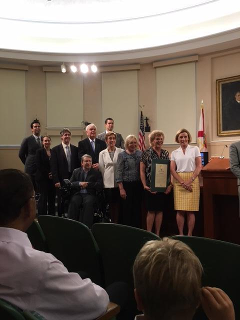 City of Coral Gables Commission passes a proclamation.