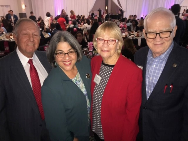pace center luncheon with lester commissioner levine cava sharon and ken bloom