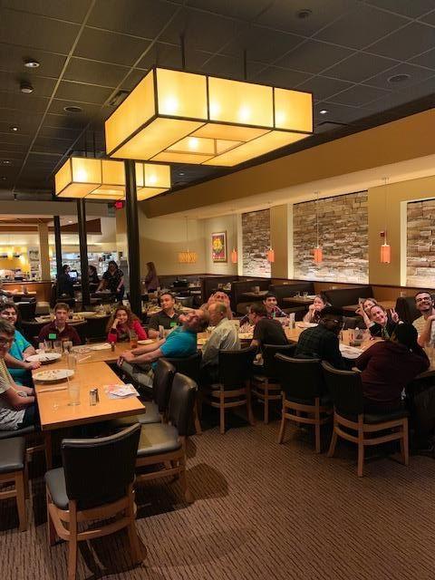 supper social dinner in February
