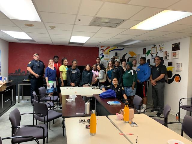 unite miami students with the city of miami police at a training with DIG staff