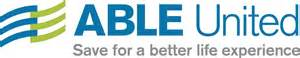 logo for ABLE United.