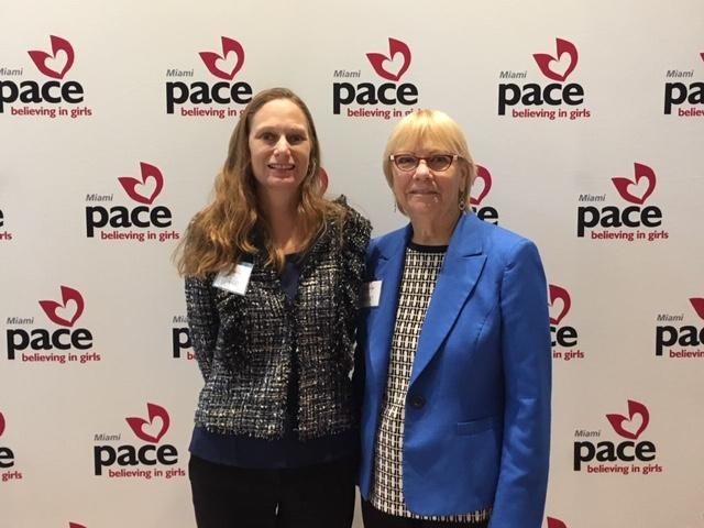 debbie and sharon at the pace luncheon
