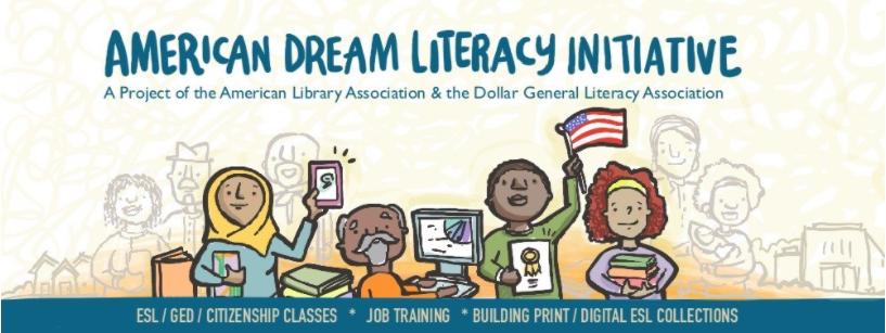 American Literacy Initiative banner