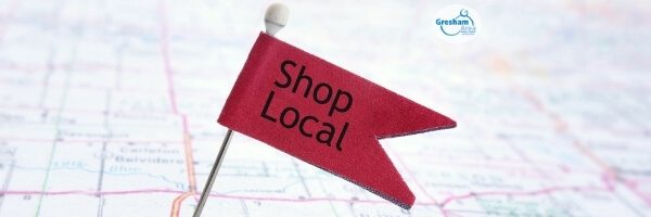 Shop Local Gresham made possible by the Gresham Area Chamber of Commerce