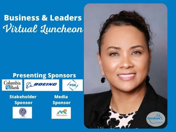 Gresham Area Chamber Business and Leaders Event with Dr. A Katrise Perera