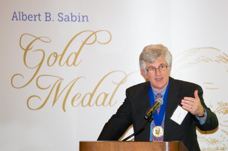 Dr. Paul Offit Sabin Gold Medal Ceremony