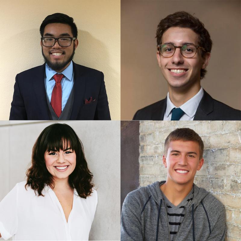 2018 ASF Undergrad Grant Recipients