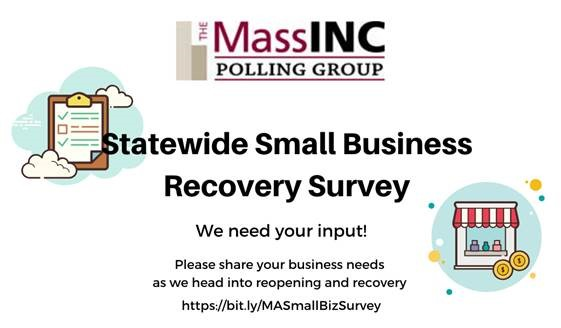 MassInc: Small Businesses requested to reply to Recovery Survey