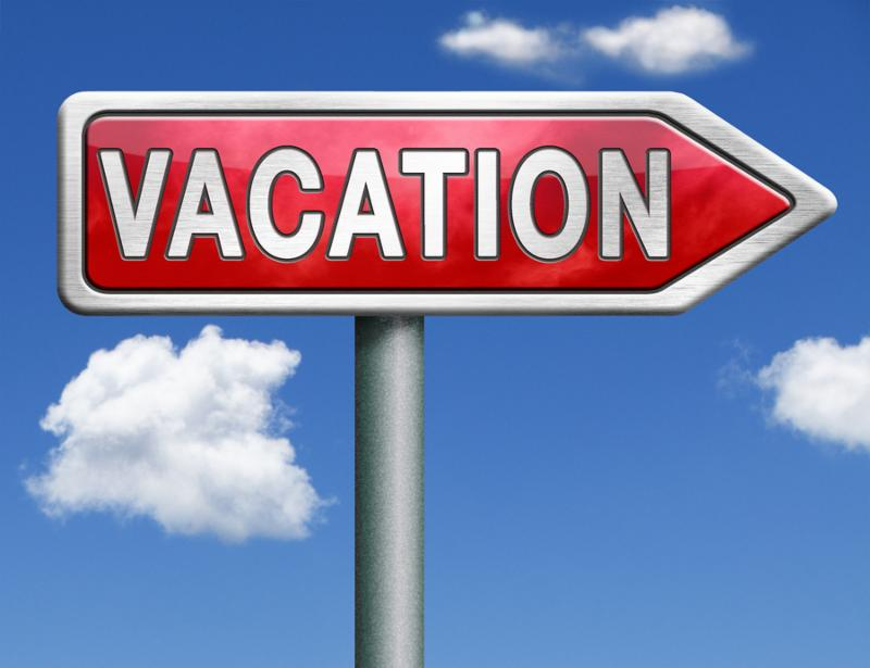 vacation or a holiday enjoy life and travel the world vacation button vacation icon red road sign arrow