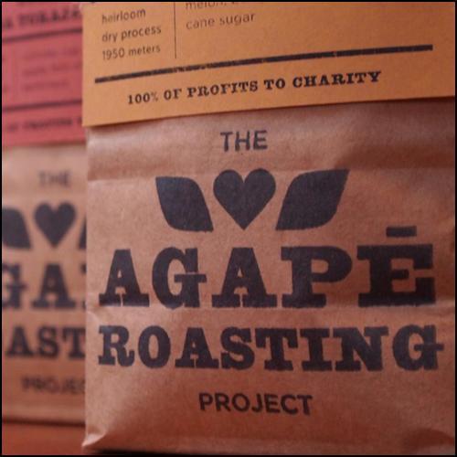 The Agape Roasting Project benefits BOEC