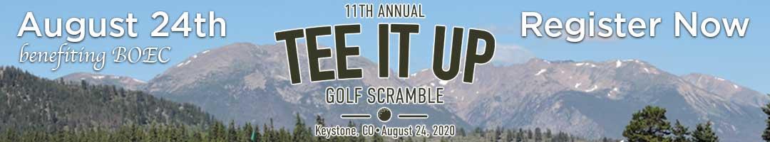 Tee it Up Golf Scramble benefiting BOEC