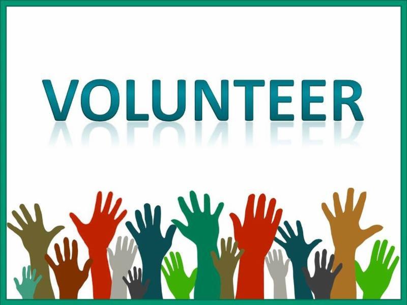 Volunteer, raise hands
